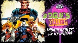 Download 10 Greatest Thunderbolts Members - Rogues' Gallery Video