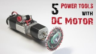 Download 5 AMAZING POWER TOOLS WITH A MOTOR Video
