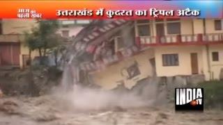 Download Rains, Flood, and Landslide in Uttarkashi, Kedarnath   Uttarakhand Flood Video Video