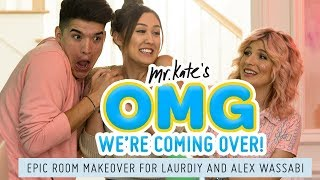 Download LaurDIY and Alex Wassabi's Epic Two-Tone Room Makeover! Video