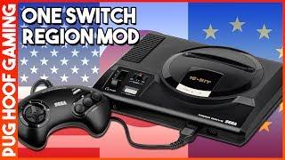 Download Mega Drive Region Mod - A One Switch Region Free Mega Drive Solution! Video