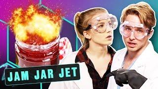 Download EXPLODING JET ENGINE IN A JAR?! (Smosh Lab) Video