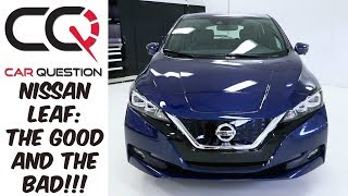 Download 2018 Nissan Leaf | The GOOD and the BAD | Review part 5/8 Video