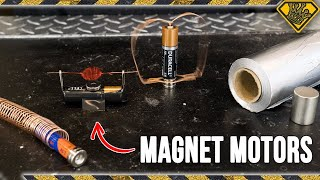 Download 4 Simple Magnet Motors You Can Make at Home Video