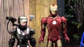 Download Ironman and Warmachine are late for school!! Video
