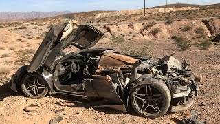 Download POLICE FIND CRASHED MCLAREN 720S IN NEVADA DESERT Video