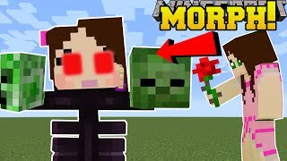 Download Minecraft: MORPH INTO MOBS!! (BE MOBS & GAIN ABILITIES!) Mod Showcase Video
