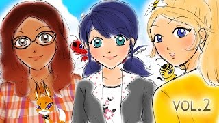 Download Miraculous Days Animation Movie Volume #2 | Miraculous Ladybug Comic Dubs Compilation Video