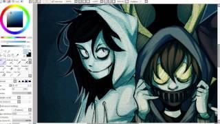 Download   SPEEDPAINT   Creepypasta/Slenderverse Hoodie Squad Video