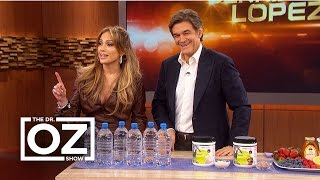Download Jennifer Lopez Tells Dr. Oz Her Beauty Secrets Video