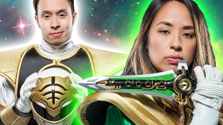 Download Super Fans Try On Power Ranger Suits Video