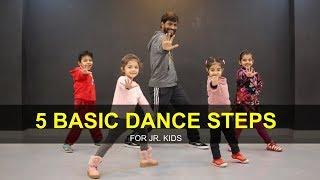 Download Dance Tutorial for 3 to 7 years Kids   5 Basic Steps   Deepak Tulsyan   G M Dance Video