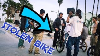 Download CONFRONTING A BIKE THIEF AT THE SKATEPARK Video