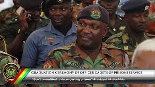 Download Graduation Ceremony of Officer Cadets of the Ghana Prisons Service Video