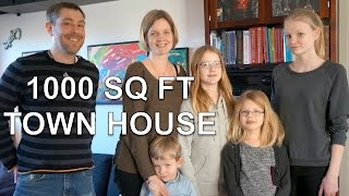 Download Family of 6 in Small Space, Town House in Denmark Video