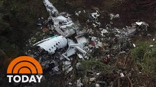 Download Colombia Plane Crash: Cockpit Recording Suggests There Was A 'Fuel Emergency' | TODAY Video