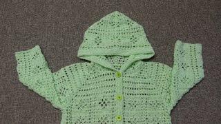 Download Suéter para niña de 3 a 4 Años Crochet parte 1de 4 Video