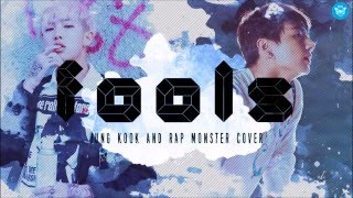 Download Fools cover by Rap Monster and Jung Kook (Lyrics) Video