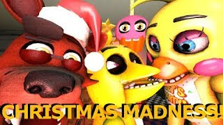 Download [FNAF SFM] Christmas Madness at Freddy Fazbear's Pizzeria Ft Baby Foxy and My Cupcake Animation Video