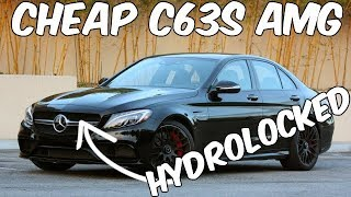 Download Should I BUY Autovlog's Mercedes C63s AMG with a Hydrolocked Motor for a Salvage Rebuild? Video