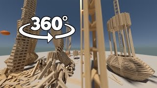 Download Plank World 360° | Physics Simulations in Virtual Reality (Stereoscopic 360°) Video