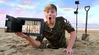 Download I Went Metal Detecting & Found $10,000 in Abandoned Safe... (Treasure Hunt Challenge) Video