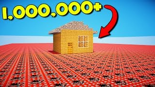 Download HOW MUCH TNT DOES IT TAKE TO EXPLODE THIS HOUSE!? Video