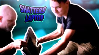 Download LUNATIC KID SHATTERS LAPTOP Video