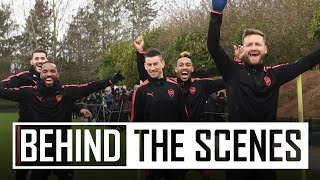 Download Who is the fastest at Arsenal? | Behind the scenes Video