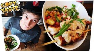Download Saumäßig gesunde Summer Bowl mit Saté-Hühnchen & Erdnussoße 🍗🥗 Copy & Taste #CaT Video