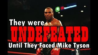 Download Mike Tyson vs 6 UNDEFEATED Opponents Video