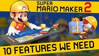 Download 10 Features that NEED TO BE in Super Mario Maker 2 Video