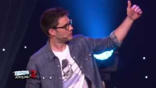Download Zapping Amazing 2 - Cyprien sur scene Video