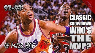 Download Michael Jordan vs Charles Barkley Highlights Bulls vs Suns (1992.11.22)-62pts Total! MVP SHOWDOWN! Video