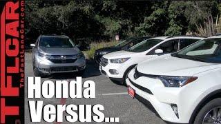 Download 2017 Honda CR-V vs Toyota RAV4 vs Ford Escape Mashup Review: You Should Buy the.... Video