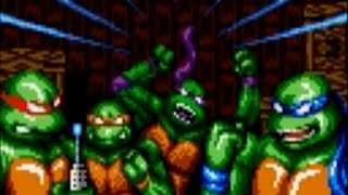 Download Teenage Mutant Ninja Turtles Tournament Fighters (Genesis) Playthrough - NintendoComplete Video