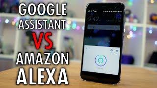 Download Amazon Alexa vs Google Assistant on the HTC U11 Video
