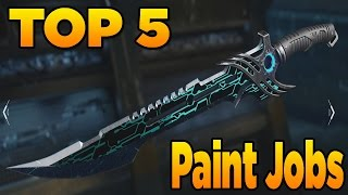 Download Top 5 Paint Jobs in Black Ops 3 (EP. 6 melee Weapon Camos) Video