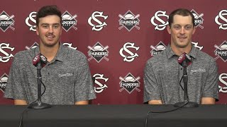 Download Adam Hill, Hunter Taylor News Conference — 5/16/18 Video