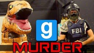 Download T-Rex Attack - Airsoft Gmod Murder Video