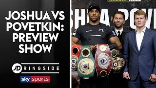 Download JD RINGSIDE | Anthony Joshua vs Alexander Povetkin | Fight Week Preview Show Video