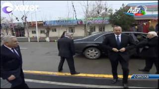 Download Prezident İlham Əliyev Zərdab rayonuna səfər edib Video