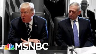 Download Trump Reportedly Called Generals 'Dopes And Babies' While Berating Them | The 11th Hour | MSNBC Video