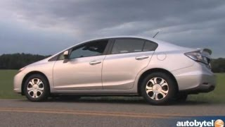 Download 2013 Honda Civic Hybrid Test Drive & Car Video Review Video