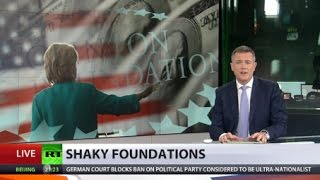 Download Clinton Foundation shutting down one charity department as number of donors drops Video