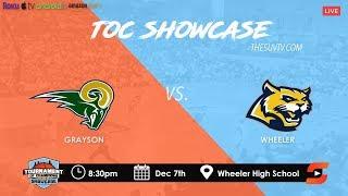 Download 2019 TOC Showcase - Wheeler vs. Grayson (CALEB MURPHY & DEVION SMITH vs. SAM HINES & ISAIAH COLLIER) Video