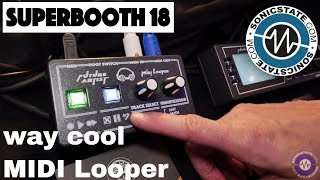 Download Superbooth 2018: Simple but Fiendishly Clever MIDI Looper from Future Artists Video