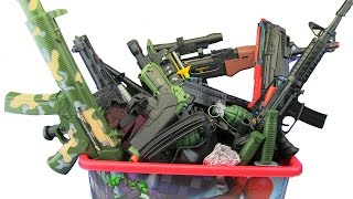 Download Box of Toys ! GUNS BOX Toys Military & Police equipment ! What's in the box ? VIDEO FOR KIDS Video