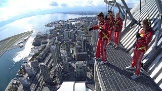 Download CN Tower EdgeWalk- 1,168ft (FULL EXPERIENCE) Toronto, Canada Video