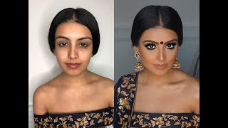 Download Indian | Bollywood | South Asian Bridal Makeup From Start To Finish @Blueroseartistry Video
